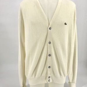 Vintage, White IZOD sweater